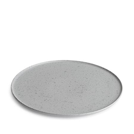 Kähler Ombria Tallerken Grå Blank Ø 27 cm