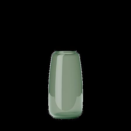 Form 130/3 Munblåst Glas Copenhagen Green 22cm