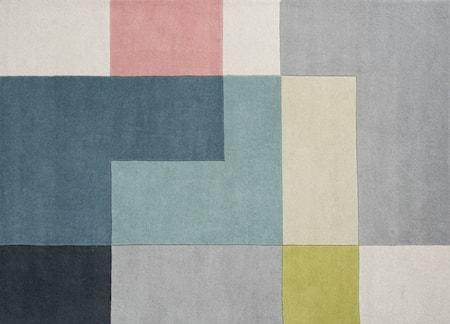 Tetris Matta Lime 140x200 cm