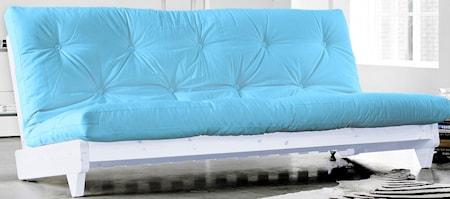 KARUP Fresh soffa - vit/ljusblå