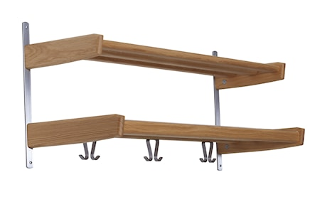 Oscarssons Möbel Meja hatthylla 90cm 2-plan