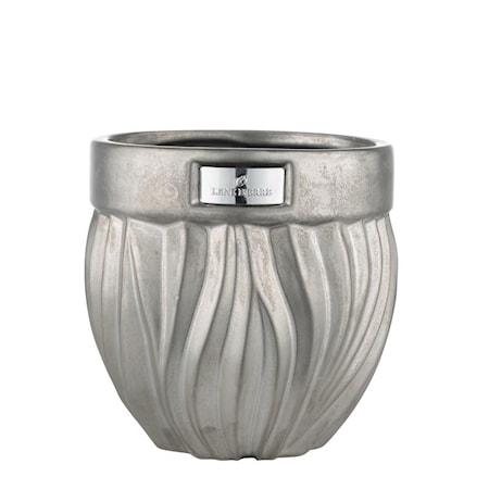 Bilde av Blomsterpotte Flamia 16cm Silver