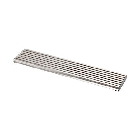Beslag Design Ventilationsgaller 598×125 rostfritt