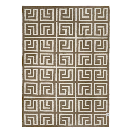 Labyrinth Simply Taupe 140x200 cm