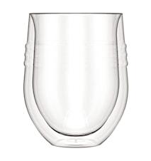 Dubbelväggat Rödvinsglas 32 cl 2 st