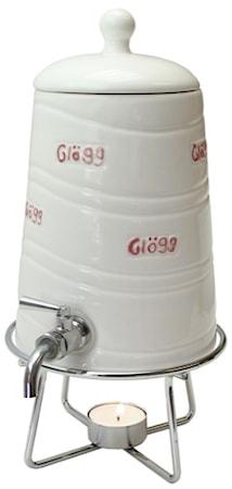 Glöggtunna med tappkran 1,2 liter