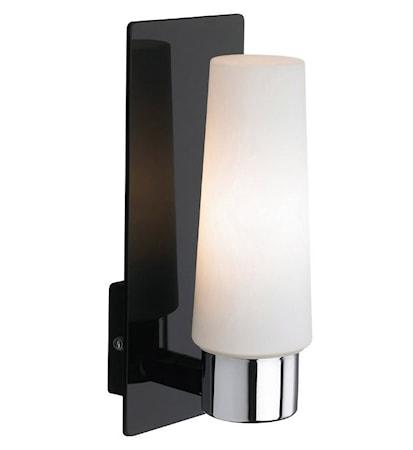 Bilde av Markslöjd Månstad LED Vegglampe 1 Lys Svart