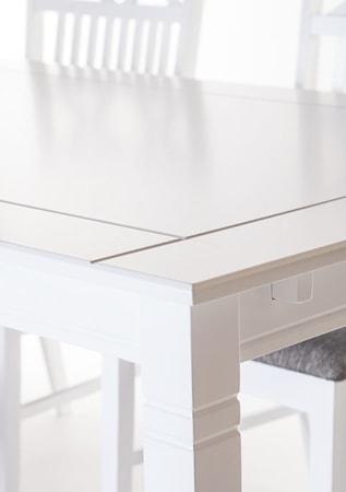 Falsterbo Sofiero matgrupp (180 cm inkl. klaff + 8 stolar)
