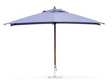 Ethimo Classic 3x4 parasoll - Med parasollfot