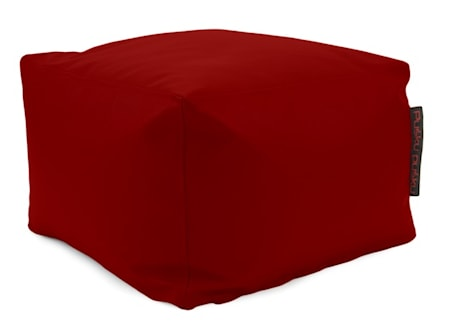 Pusku Pusku Softbox outside sittpuff ? Dark Red