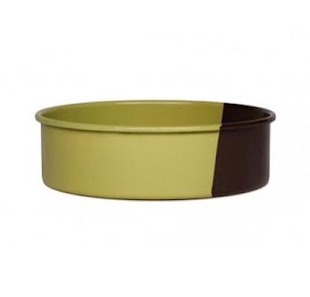 Riess Pyöreä leivontavuoka Chocolate/Pistachio Ø 26 cm