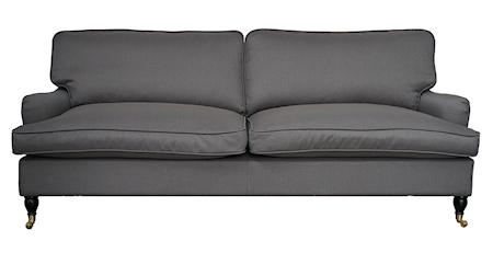 Allinwood Howard rett 3-seter soffa – Mørkegrå thumbnail