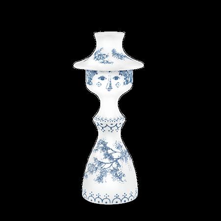 Bilde av Björn Wiinblad Lysestake, Felicia, blå, 19,5 cm