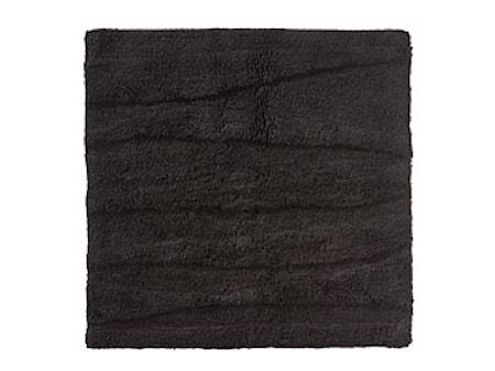 Badrumsmatta Black Flow 65x65