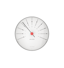 Arne Jacobsen Bankers Termometer, Ø 12 cm