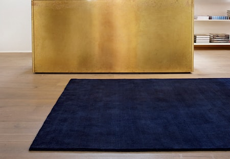 Earth Bambu Vibrant Blå Matta 170x240 cm