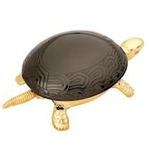 Ringklocka Sköldpadda Guld med svart skal