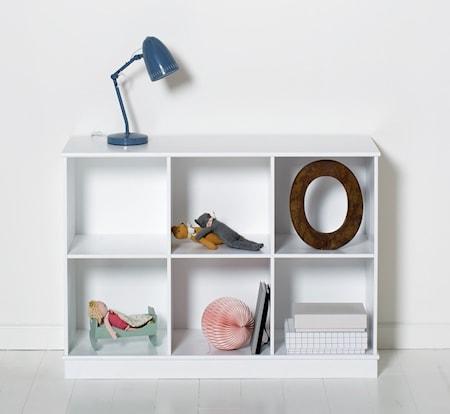 Oliver Furniture Wood shelving unit golvhylla – 3×2