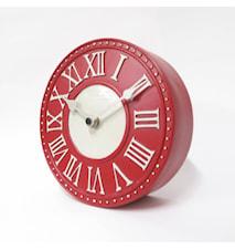 London Bordsklocka Röd 16 cm