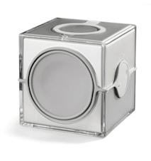 Cube Badrumsradio Silver