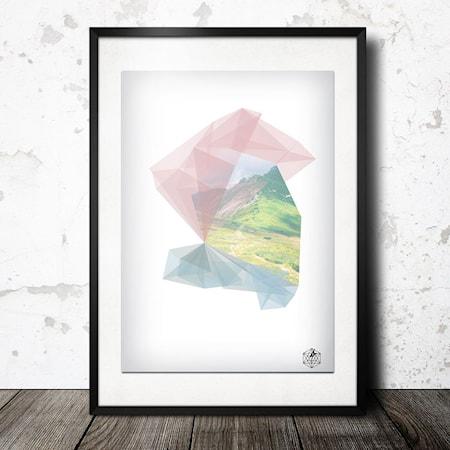 Bilde av Konstgaraget Nordic geometry poster