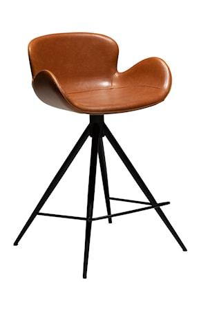 Dan Form Denmark Barstol Gaia 87 cm Konstläder - Vintage Ljusbrun