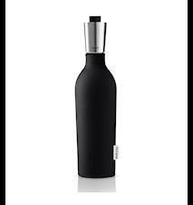 Vinkaraff/ Bag-in-Box-karaff med neoprenfodral black 0,75 l