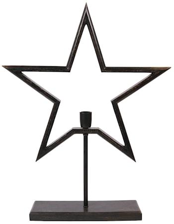 Farm Stjärna on Base Svart 80cm