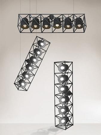 Bilde av SELETTI Multilamp tak/gulvlampe