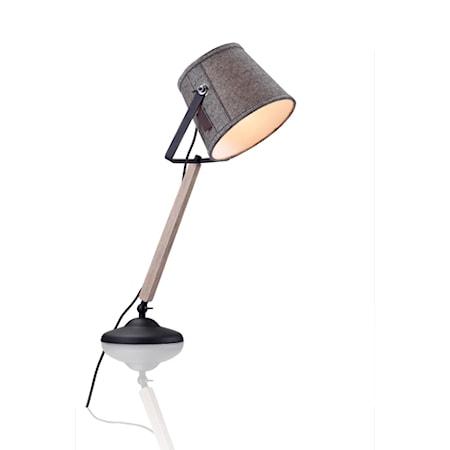 Markslöjd Legen Bordslampa Grå/Svart
