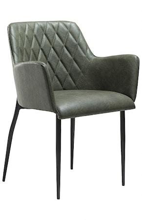 Dan Form Denmark Rombo karmstol ? Vintage grön