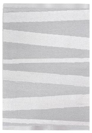 Åre Grå/vit matta 1m