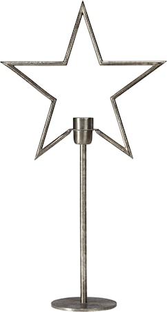 Tindra on base Råsilver 65cm