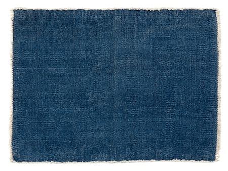 Nordal Tablett Raw 33x48 cm - Mörkblå