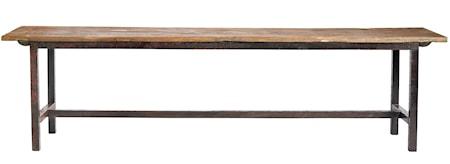 Nordal Raw bench wood - 100 cm