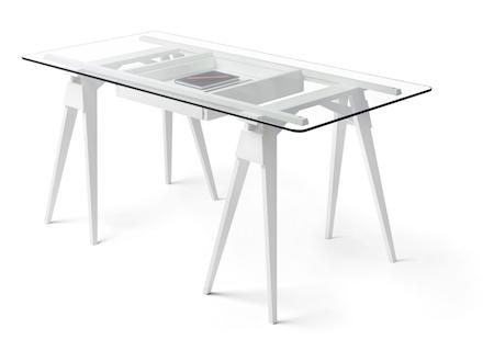 Design House Stockholm Arco skrivebord - Hvit thumbnail