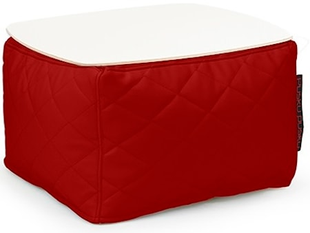 Pusku Pusku Soft table 60 quilted outside sidobord - Dark Red