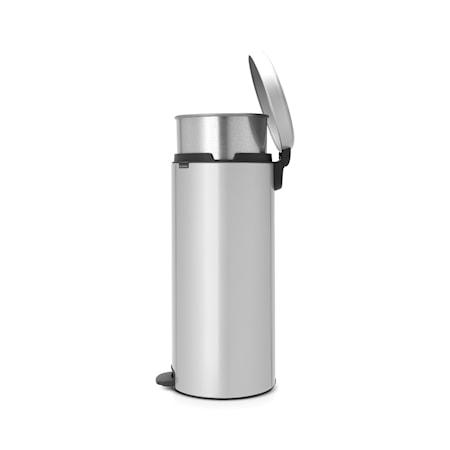 Brabantia Pedalhink newIcon metallinnerhink 30 L Metallic Grey