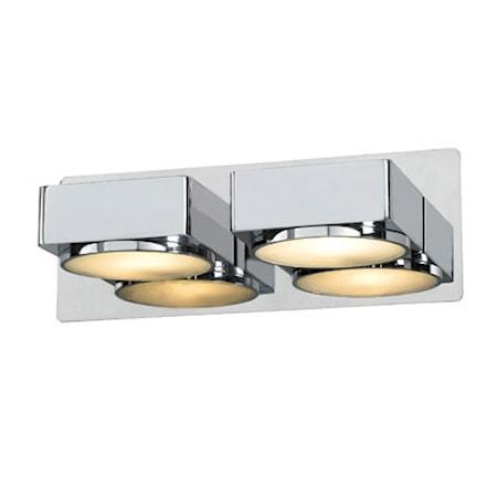 Bilde av Markslöjd Mellerud Vegglampe 2 Lys Krom