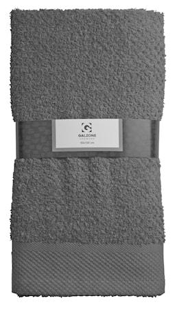 Galzone Håndklæde - 100% bomuld - 400 g - Grå - L 100,0cm - B 50,0cm - Sleeve - Stk. thumbnail