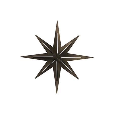 Julgranspynt Stjärna Metall