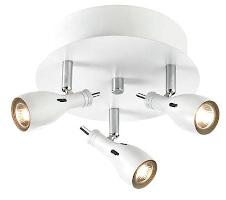 Bilde av Markslöjd Lammhullt Taklampe 3 Lys Hvit