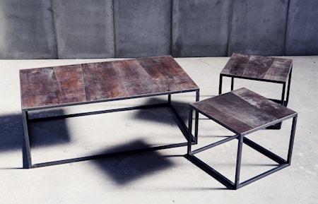 Bilde av Heerenhuis Mesa leather sofabord