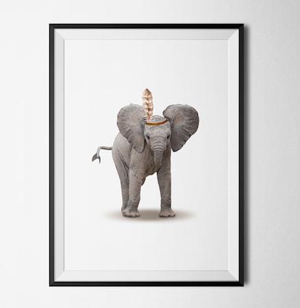 Bilde av Konstgaraget Elephant poster