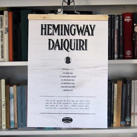 Bilde av Owl streets Hemingway Daiquiri poster