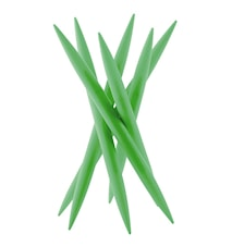 SPICY Knivställ med 6 st köttknivar Grön
