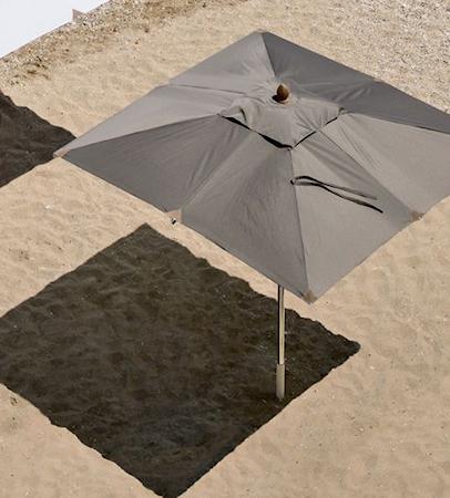 Ethimo Free rektangel 3x2 parasoll - Utan parasollfot