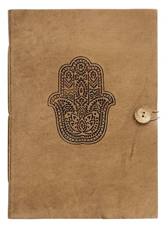 Notebook Fatima Hand Läder Large