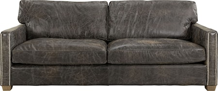 Artwood Viscount soffa - 3-sits, Leather fudge