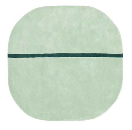 Normann Copenhagen Oona Matta Mint 140×140 cm